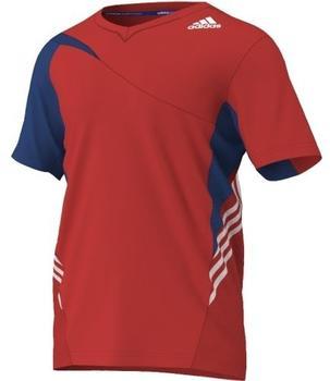 Adidas Badminton Trikot, BT Colorblock Tee M Gr. M, G92705