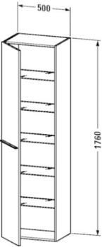 Duravit X-Large (1137) links