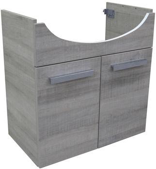 Fackelmann A-Vero Waschtischunterschrank 63 cm Graueiche (82502)