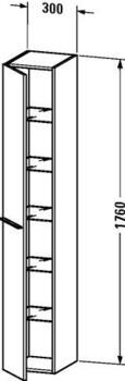 Duravit X-Large Hochschrank (XL1135 L/R)