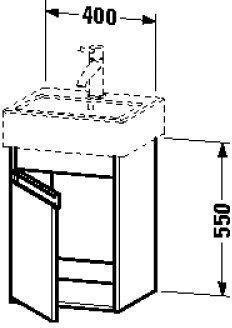 Duravit Ketho 320x400x550mm weiß matt (KT6630L1818)
