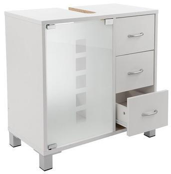 LIMAL Unterschrank 3 Schubladen Holz weiß 30x60x56cm (423_2775_K)