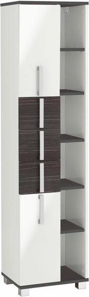 Schildmeyer Kampen Hochschrank-Regal 42x32x163,7cm zebrino grau