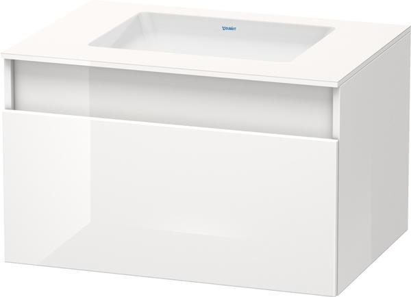 Duravit DuraStyle 80x50x55cm weiß Hochglanz (DS688302222)