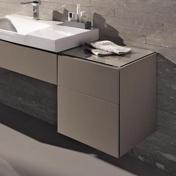 Geberit Xeno² Seitenschrank 45x51x46,2cm Front greige matt/Korpus greige matt (500504001)