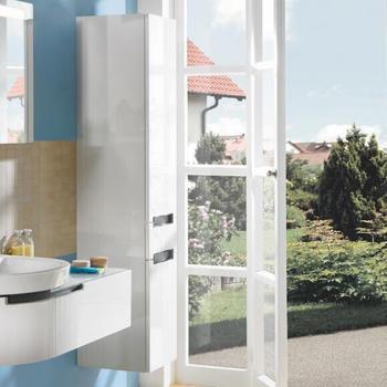 Villeroy & Boch Subway 2.0 Hochschrank 35x165x37cm Front glossy white / Korpus glossy white (A70810DH)