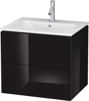 Duravit L-Cube 62x55x48,1 schwarz Lack Hochglanz (LC624004040)