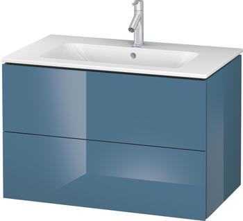Duravit L-Cube 82x55x48,1 stone blue Lack Hochglanz (LC624104747)
