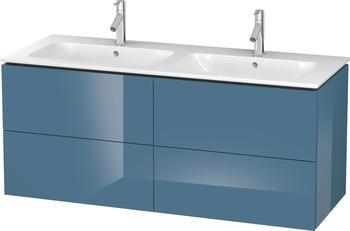 Duravit L-Cube 129x55x48,1 stone blue Lack Hochglanz (LC625904747)