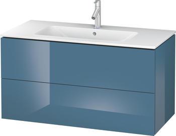 Duravit L-Cube 102x55x48,1 stone blue Lack Hochglanz (LC624204747)