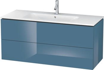 Duravit L-Cube 122x55x48,1 stone blue Lack Hochglanz (LC624304747)