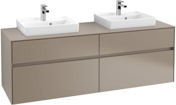Villeroy & Boch Collaro 160 x 54,8 x 50 cm Truffle Grey / Truffle Grey (C02100VG)