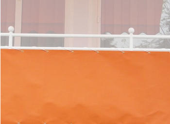 Angerer Balkonbespannung 90cm x 8m uni orange