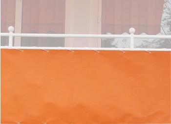 Angerer Balkonbespannung PE 75cm x 8m uni orange