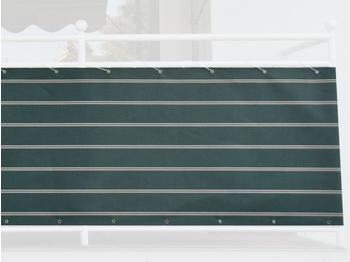 Angerer Balkonbespannung 75cm x 6m Streifen grün