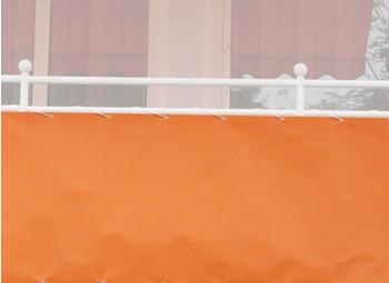 Angerer Balkonbespannung 75cm x 8m uni orange