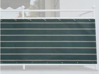 Angerer Balkonbespannung 90cm x 8m Streifen grün