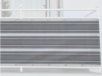 Angerer Balkonbespannung 75cm x 8m Streifen grau