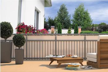 Home & Garden Balkonschutz BxH: 600 x 90 cm creme