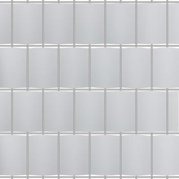 Arebos Sichtschutzrollo 35 x 19 cm grau