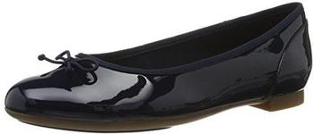 Clarks Couture Bloom navy patent