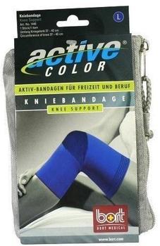 Bort ActiveColor Kniebandage blau Gr. L