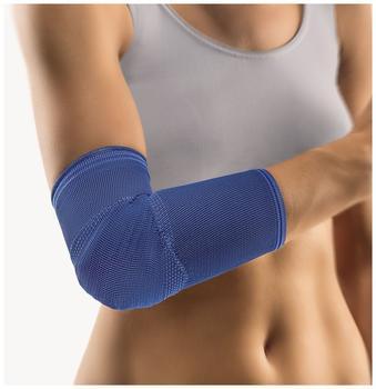 Bort Kubital Ellenbogen-Polster-Bandage Blau Gr. M