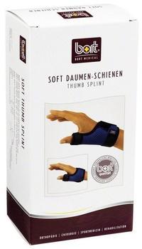 Bort Soft Daumen-Schiene kurz blau Gr. M