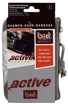 Bort ActiveColor Daumen-Hand-Bandage Schwarz Gr. L