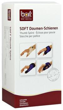 Bort Soft Daumen-Schiene Plus Blau Gr. S