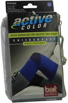Bort ActiveColor Kniebandage blau Gr. XL
