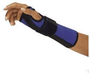 Bort Arm- und Handgelenkschiene links blau/schwarz Gr. S