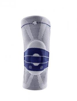 Bauerfeind GenuTrain mit Silikonhaftrand Titan Gr. 7 Comfort