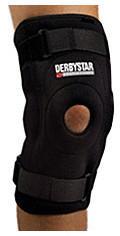 Derbystar Protect Care Knieschutz Mit Schienen Gr. XL/XXL
