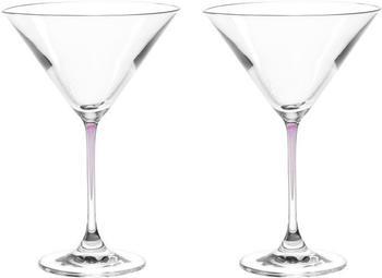 Leonardo Cocktailschalen La Perla viola