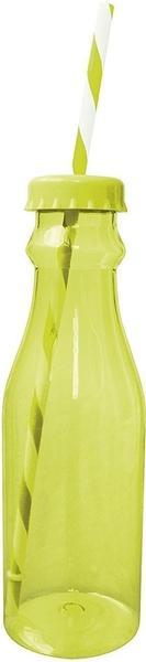Zak Soda Flasche mit Trinkhalm 70 cl grün