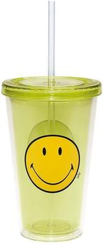 zak-smiley-trinkbecher-mit-trinkhalm-49-cl-gruen