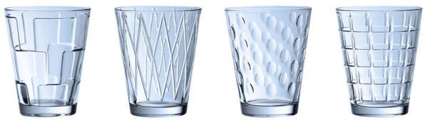 Villeroy & Boch Wasserglas Dressed up blau