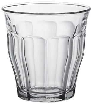 Duralex Wasserglas Picardie 25 cl 4 er set
