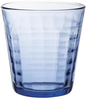 Duralex Prisme Trinkglas 270 ml Marine Blau 16er Set
