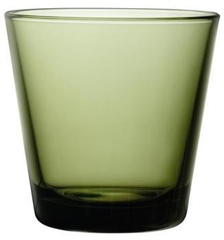 iittala Trinkglas Kartio 21 cl Moosgrün