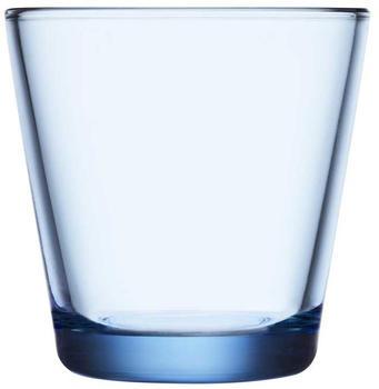 iittala Trinkglas Kartio 21 cl Aqua-Blau