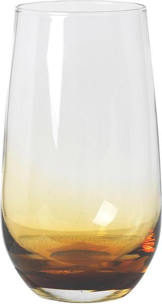 Broste Copenhagen Trinkglas 55 cl amber