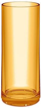 Koziol CHEERS NO. 3 Longdrink-Glas - transparent amber - 250 ml