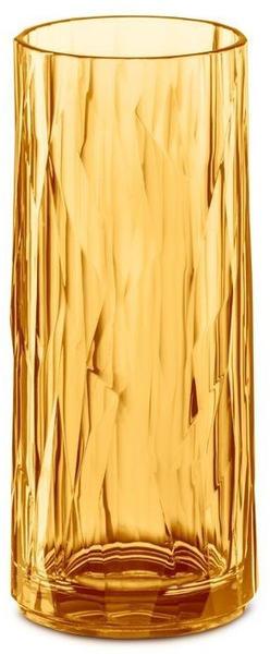 Koziol CLUB NO. 3 Longdrink-Glas - transparent amber - 250 ml