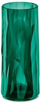 Koziol CLUB NO. 3 Longdrink-Glas - transparent emerald green - 250 ml