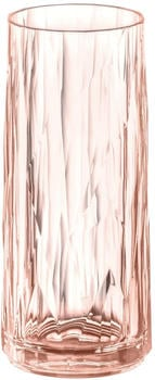Koziol CLUB NO. 3 Longdrink-Glas - transparent rose quartz - 250 ml