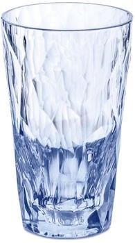 Koziol CLUB NO. 6 Longdrink-Glas - transparent aquamarine - 300 ml