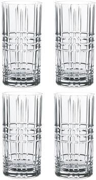Nachtmann Square Longdrinkglas 445 ml 4er Set