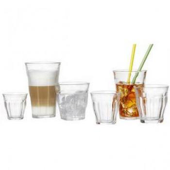Duralex Wasserglas Picardie 16 cl 6er Set